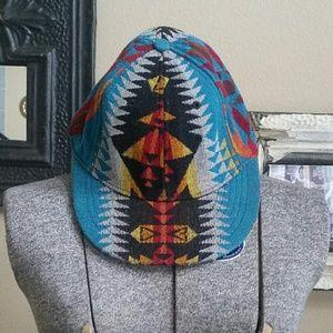🌵Pendleton Semi Structured Aztec Pattern Cap Hat